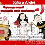 Convites para Noivado 2013