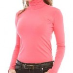 Blusas de Gola Alta Femininas Moda 2013