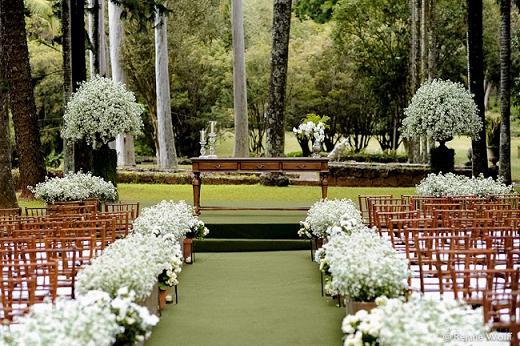 Decoração de Casamentos Rústico Simples