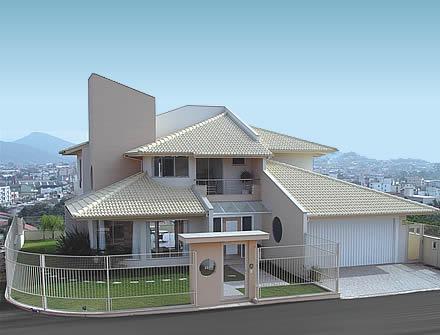 Casas e telhados