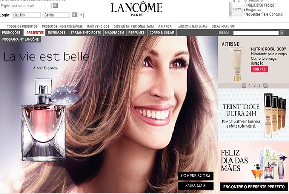 Site-Lancome