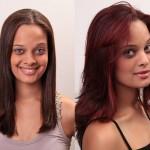 cabelos-com-mechas-vermelhas-antes-e-depois