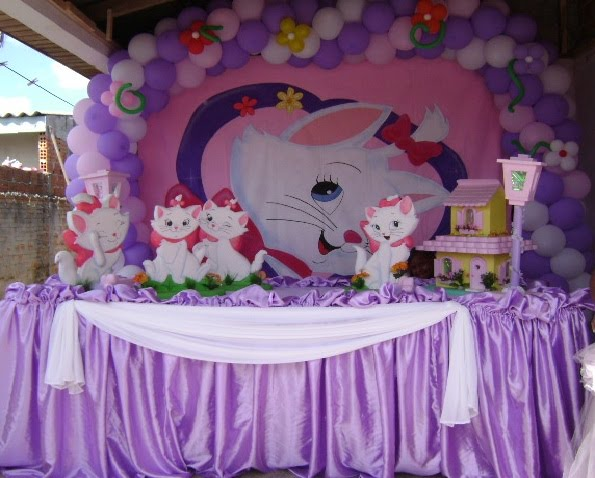 Decora    O De Festa Infantil Marie  Fotos