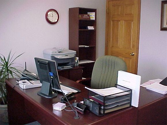Decora o para escrit rio simples dicas e modelos for Como decorar una recepcion de oficina pequena