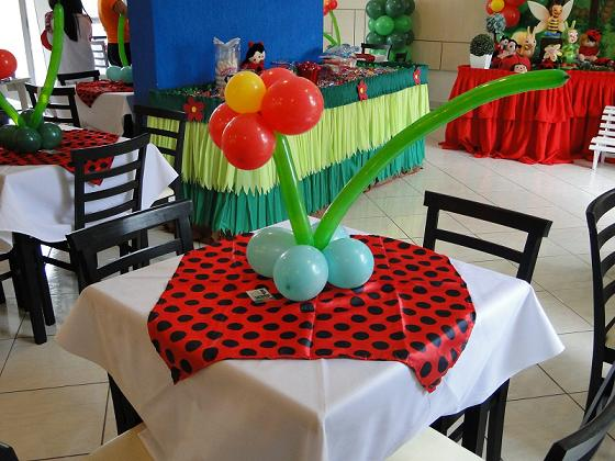 decoracao de festa infantil jardim das joaninhas:Decoração para Festa Infantil Tema Joaninha: Fotos, Modelos