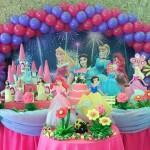 Festa de Aniversário das Princesas – Fotos, Como Decorar