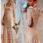 Vestido de Noiva de Croche