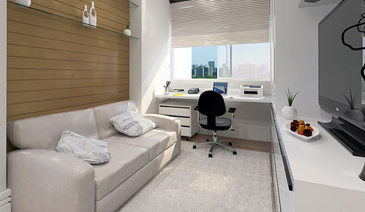 modelos de decora o para home office. Black Bedroom Furniture Sets. Home Design Ideas