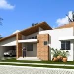 Fachadas de Casas Coloniais
