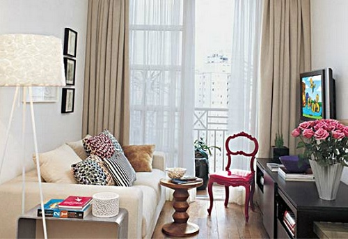 Decora o para apartamentos pequenos e simples fotos for Modelos de apartamentos pequenos