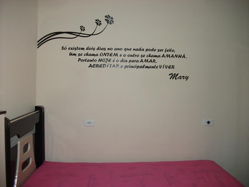 Frases para paredes de quarto fotos dicas - Frases para paredes habitaciones ...