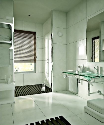 Banheiros decorados modelos for Ver modelos de banos