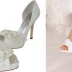 Modelos de Sapatos de Noivas com Flores