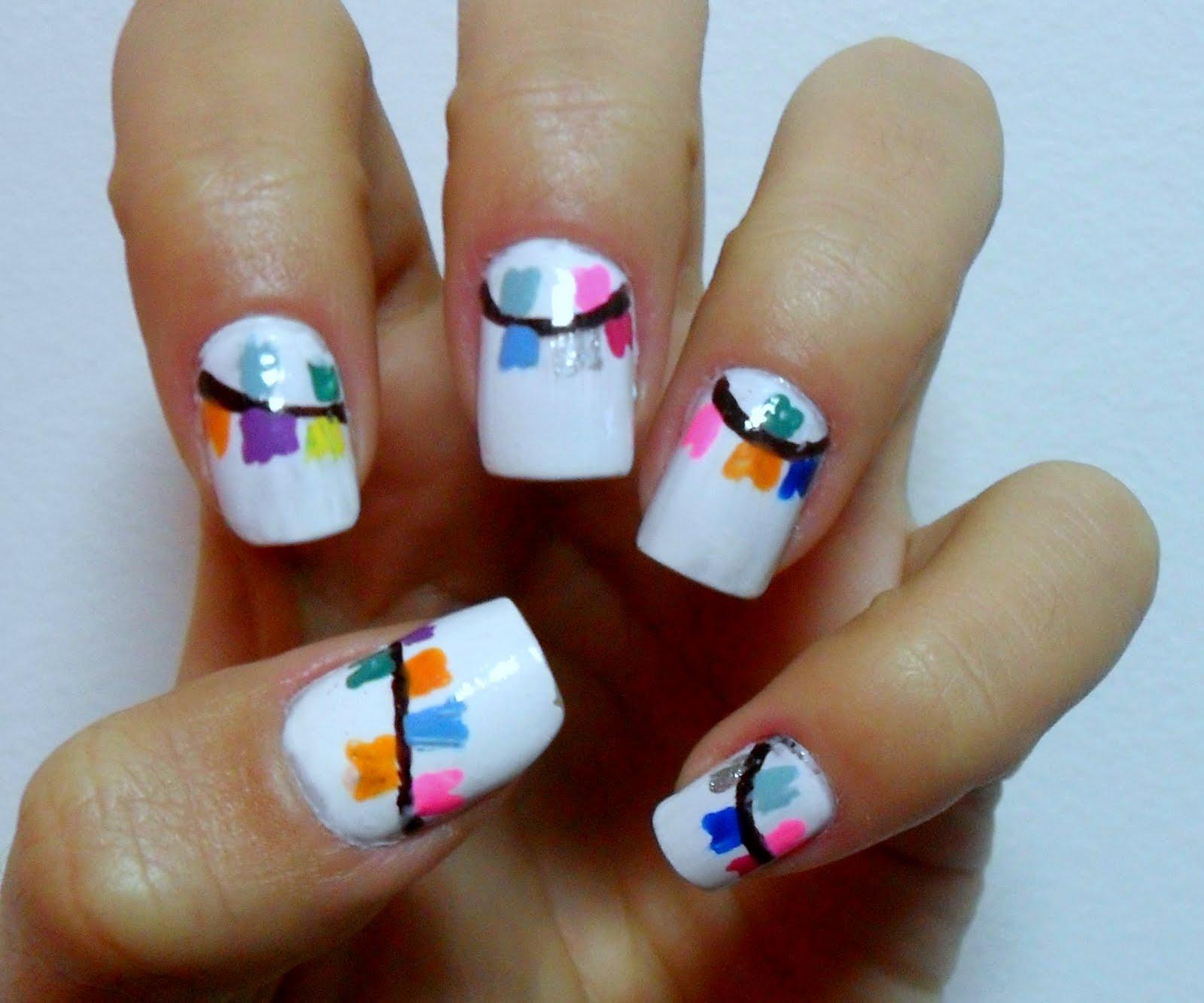 Novos modelos de unhas decoradas 2015 - Como Fazer as unhas