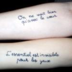 Tatuagens com Frases em Francês