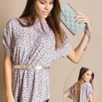 Blusas com Decotes nas Costas Moda 2014