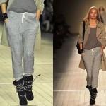 Calças de Moletom Femininas Moda 2014