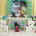 Decoração de Festa Infantil Tema Monstros S/A