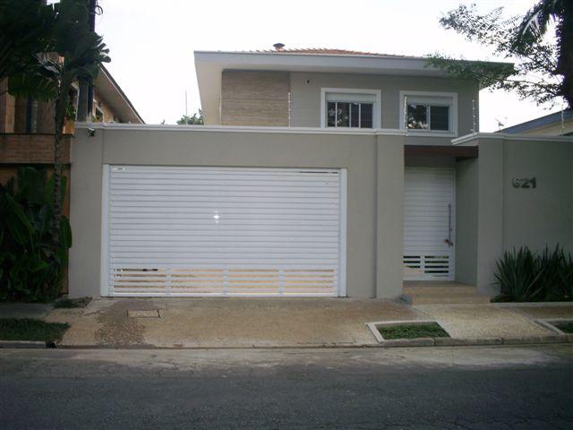 Modelos de port es para garagem residencial for Aggiunta in cima al garage