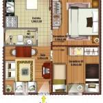 Plantas de Casas Simples Modelos 2014