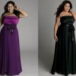 Vestidos de Festa Plus Size Moda 2014