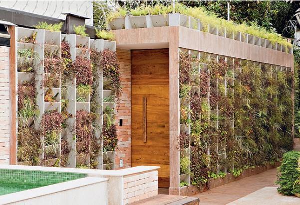 saber como os jardins verticais são belos, veja as fotos da galeria