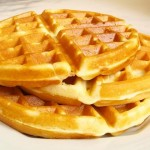 Receita de Waffle Pão de Queijo