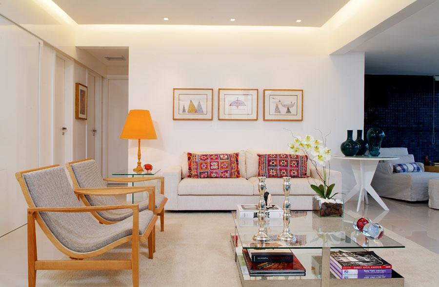 Decora o para salas modernas e despojadas for Salas pequenas e modernas