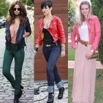 Modelos de Jaquetas de Couro Coloridas Femininas