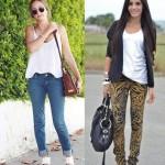 Calças Jeans Estampadas: Fotos, Como Usar