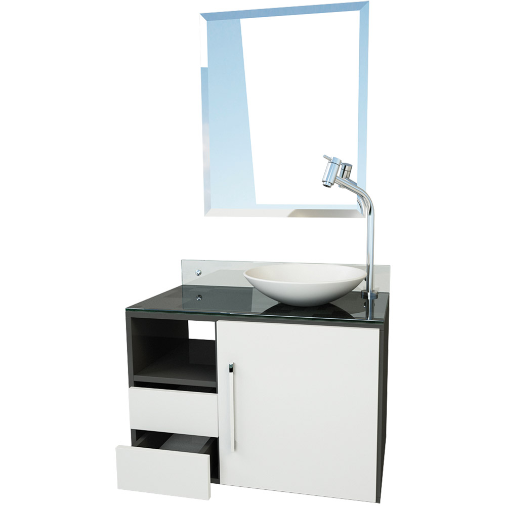 Fotos de gabinetes de banheiro 94