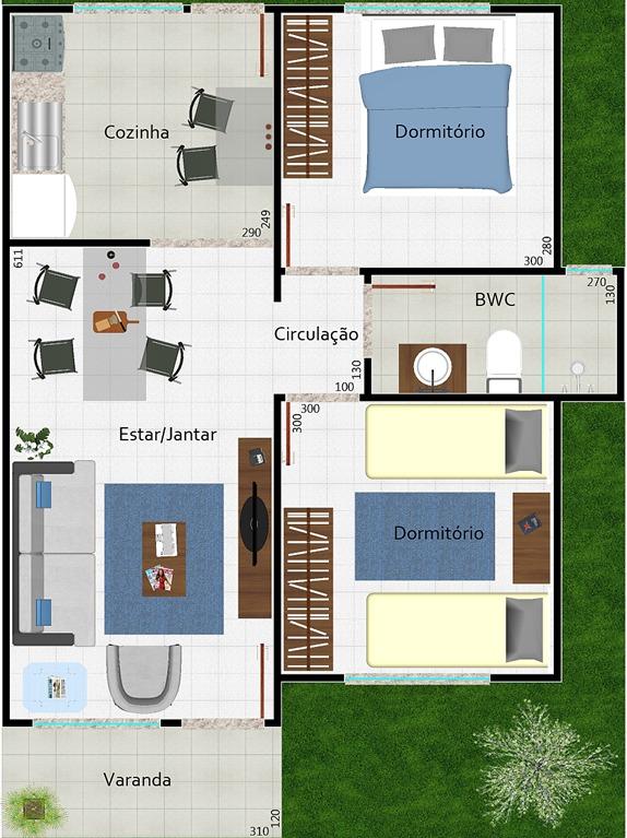 Plantas de casas e projetos de im veis dicas modelos - Casas on line ...