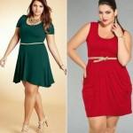 Vestidos Plus Size para Baladas Moda 2014