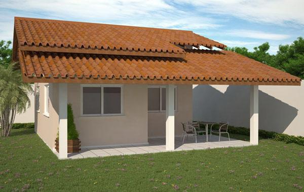 Fachadas de casas pequenas e bonitas for Fachadas pequenas
