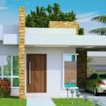 Fachadas de Casas Pequenas e Bonitas