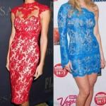 Vestidos de Renda Coloridos Moda 2014