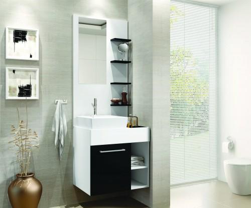 decorar banheiro pequeno e simples – Doitricom -> Decoracao Para Banheiro Pequeno Simples