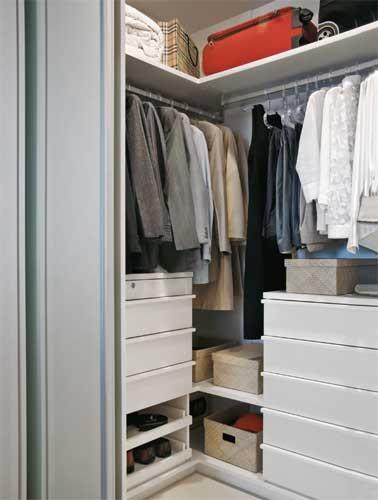 Modelos de closets pequenos e elegantes for Modelos de closets para dormitorios pequenos