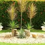 Modelos de Jardins Residenciais com Pedras na Decoração
