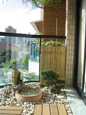 Mini Jardim na Varanda de Apartamento - Fotos, Como Decorar