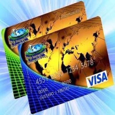 Cartão de crédito da Igreja Internacional da Graça de Deus