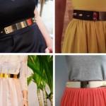 Moda Metal Belt