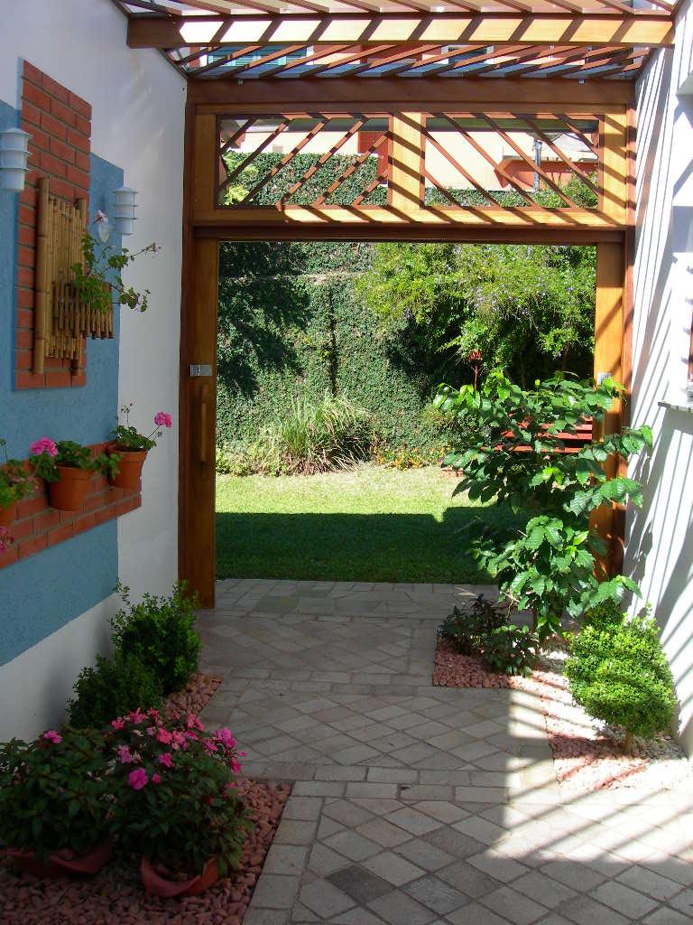Decora o de jardim pequeno externo fotos dicas para for Jardines redondos pequenos
