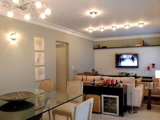 Sala De Estar Clin ~ Decoração de Salas com 2 Ambientes Dicas, Fotos