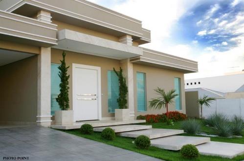 Fachadas de casas modernas fotos for Modelos cielorrasos para casas