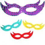 Decoração para Máscara de Carnaval
