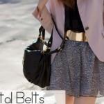 Moda Metal Belt: o que é, como usar?