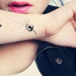 Tatuagens Femininas Delicadas para 2014