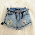 Short Jeans Cintura Alta: modelos, fotos