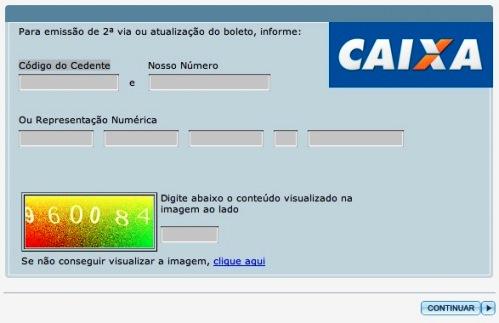 Boleto Expresso CAIXA